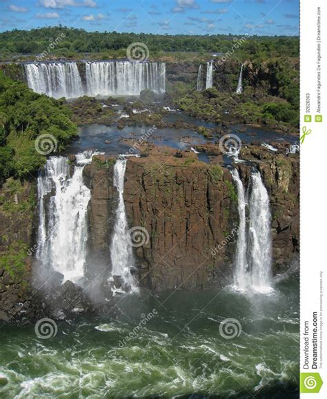 the and of dominick davidner middle falls time travel novel volume 3 books iguacu waterfalls in brazil royalty free stock photo