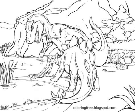 3d Copy And Draw Dinosaurs And free coloring pages printable pictures to color