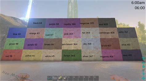 dye official ark survival evolved wiki