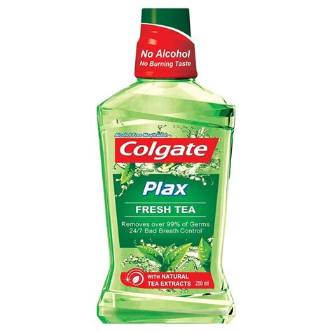 amazon tea buy colgate plax fresh tea mouthwash 250 ml at rs 97 from amazon loot deals india