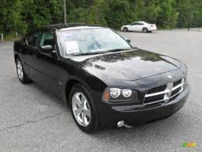 brilliant black pearl 2009 dodge charger r t