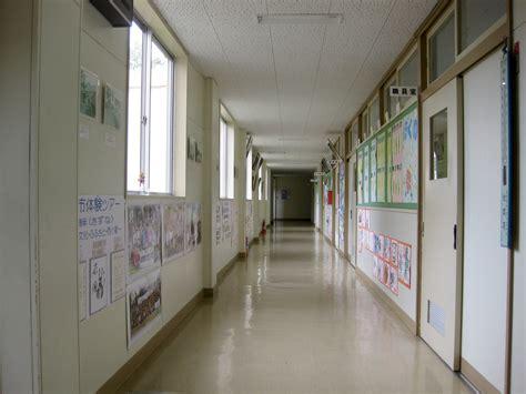 Japanese Room Design by File Hitane Elementary Hallway 1 Jpg