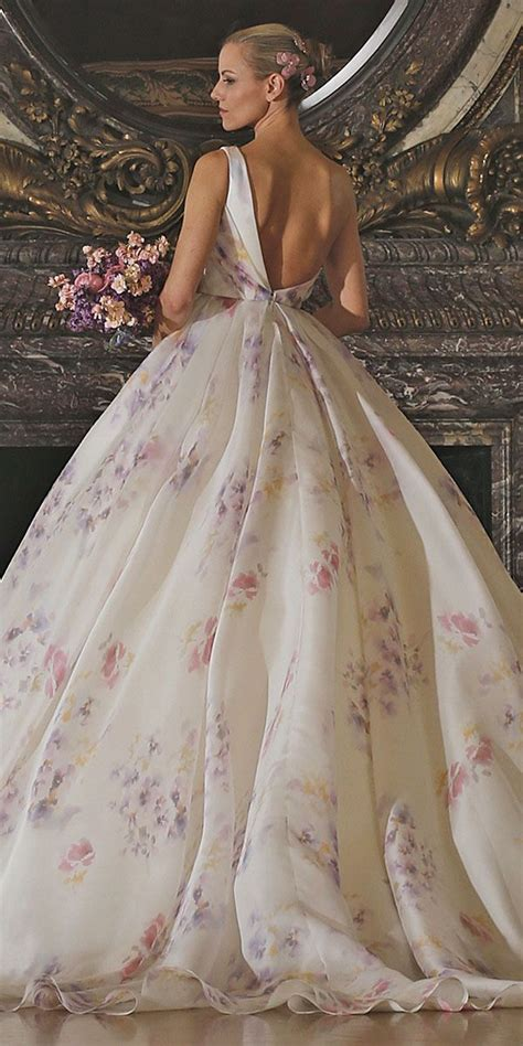 Flower Dresses For Weddings by Floral Wedding Dresses Via Romona Keveza Floral Wedding