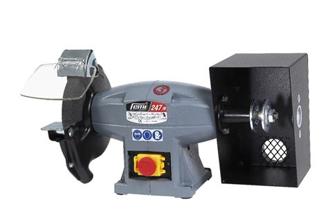 bench polisher grinder femi 247 m 200mm bench grinder polisher bench grinders