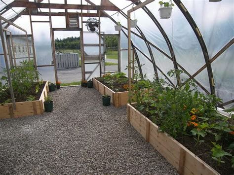 raised bed greenhouse raised beds in the greenhouse photo penobscot bay press
