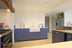 Used Kitchen Cabinets Sale in frame shaker kitchen in juniper ash blue east meon