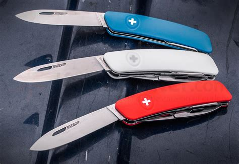 swiss pocket knives swiza d03 swiss pocket knife multi tool blue 2 95 quot plain