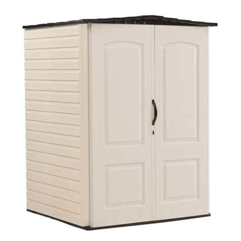 shop rubbermaid storage shed common 5 ft x 4 ft actual