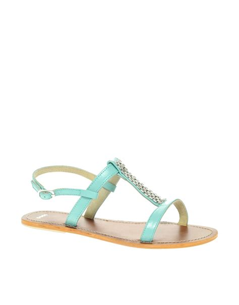 Trim Patent Flat Sandal By Asos by Object Moved