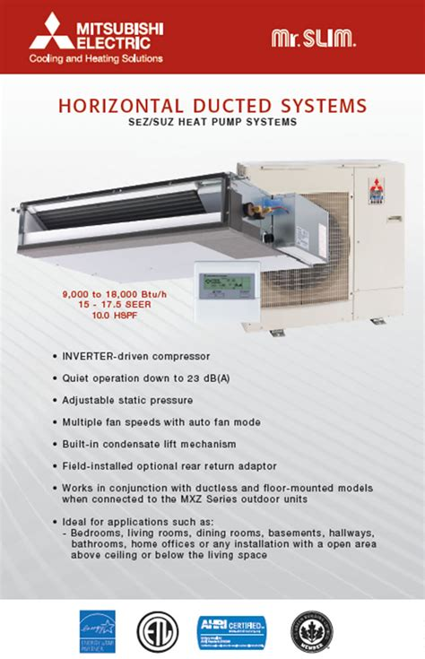 Mitsubishi Air conditioning contractor   Ductless and central AC