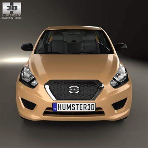 New Datsun Go Ready Stock datsun go plus 2014 3d model humster3d