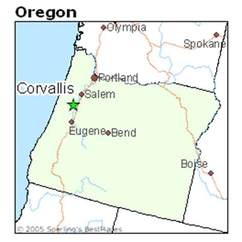 map of corvallis oregon best places to live in corvallis oregon