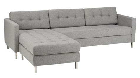2 sectional sofa ditto ii button tufted sectional sofa cb2