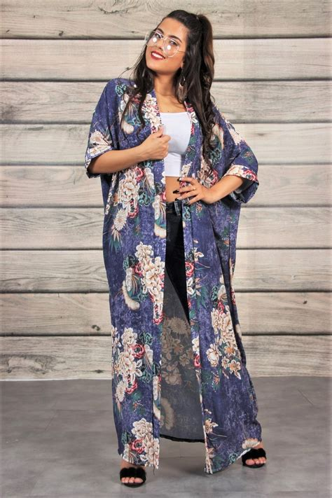 Fleuri Dress kimono fleuri