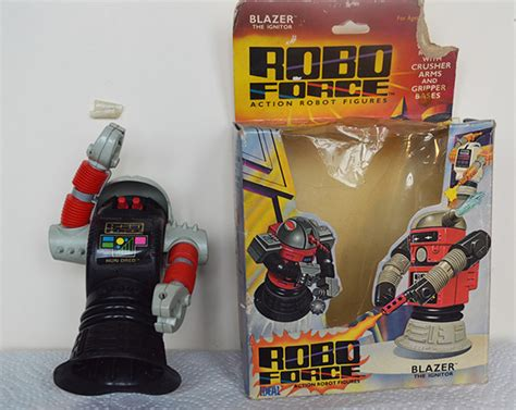robo s h f by greenland toys robo quot blaze the ignator quot robot