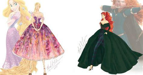 Robe De Mariée Disney - cet artiste transforme les robes des princesses disney en