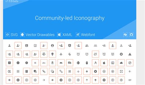 material design hand icon 10 sets of free material design icons for web designers