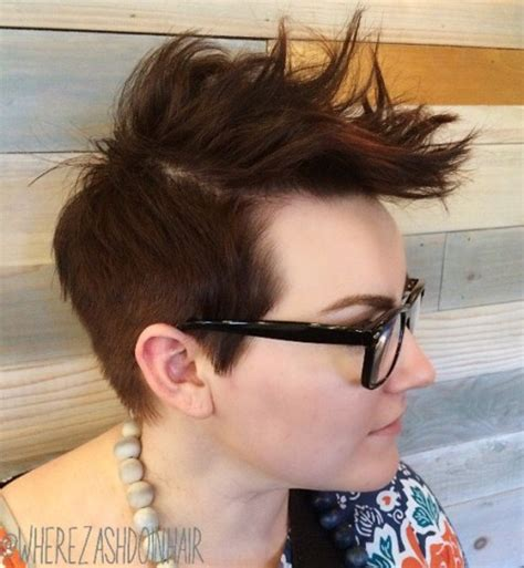 how to spike womens hair 40 bold and beautiful short spiky haircuts for women
