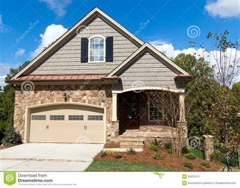 new cottage homes new cottage home stock image image 34231671