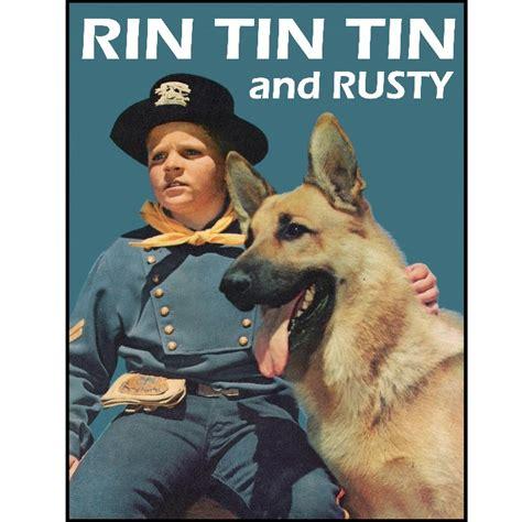 Rin Tin Tin rin tin tin and poster 1950 s tv show german