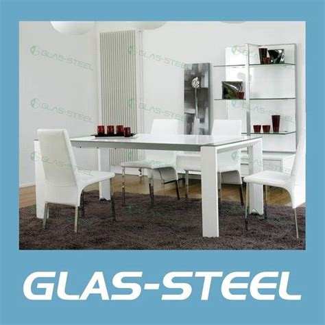 Tempered Glass Kb rectangle glass top dining table best dining table ideas