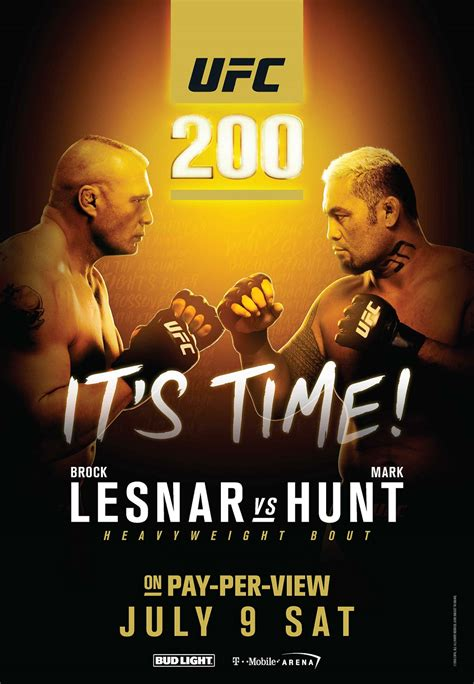 ufc 200 lesnar vs hunt on july 9 follow the wire