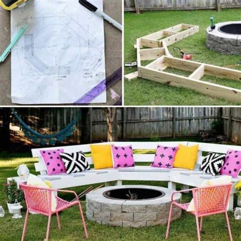 bench swing fire pit pergola fire pit swings diy project the whoot