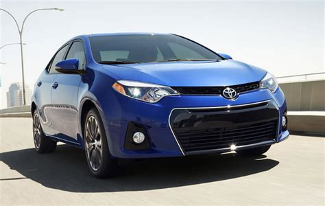 Price Of Toyota Corolla 2015 2015 Toyota Corolla Sedan Review Specs And Prices
