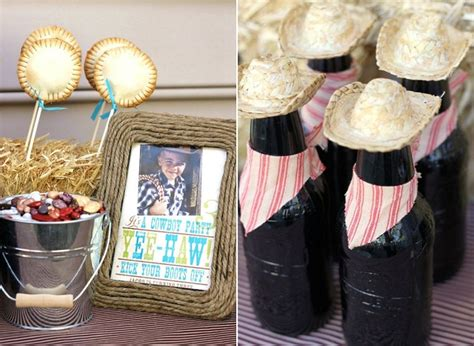 Easy Home Decorating cowboy themed party ideas celebrations at home