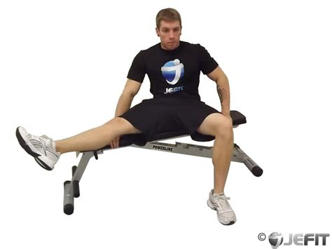 Best Exercise Chair chair leg extended stretch exercise database jefit
