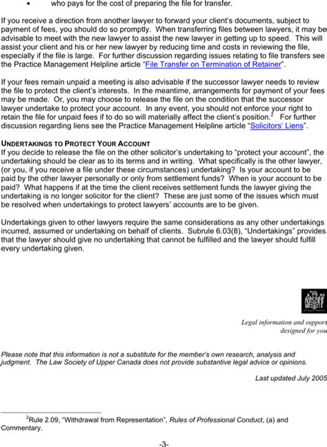 retainer client termination letter