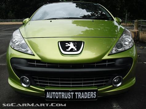peugeot green peugeot 207 review and photos