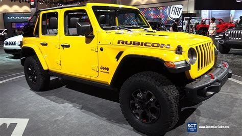 2018 Jeep Wrangler Debut by 2018 Jeep Wrangler Rubicon Exterior And Interior