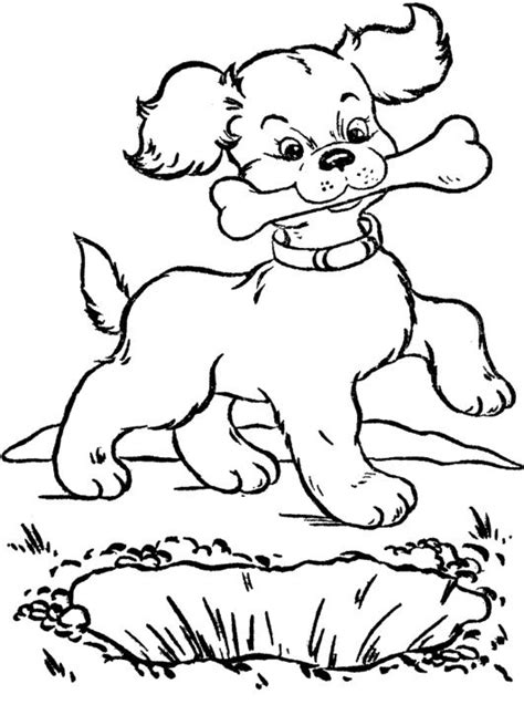 coloring page dog bone dog bone coloring cake ideas and designs