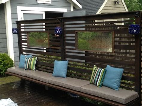 folding outdoor privacy screen woodworking