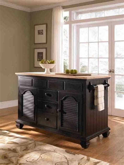 kitchen island furniture broyhill attic heirlooms paula