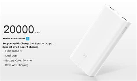 Xiaomi Powerbank Fast Charging 20000mah 2959 original xiaomi 20000mah polymer power bank 2 dual usb output with charge 3 0 sale