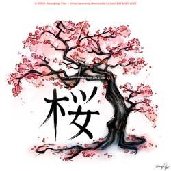 Cherry Bloosom Tree japanese cherry blossom tree tattoo