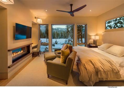 Interior Kitchen Design Photos bedroom fireplace mountain views home near lake tahoe