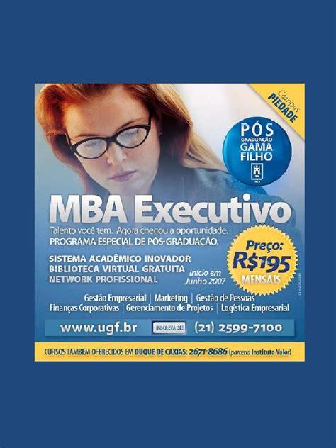 Cd Mba by Mba Executivo Em Marketing