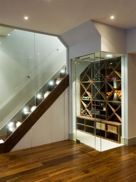 wine cellar under the stairs bar home theater pinterest