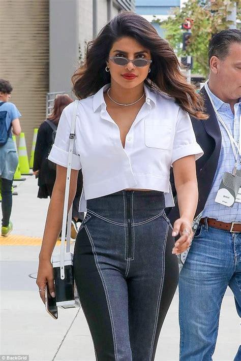 priyanka chopra fashion line priyanka chopra looks sensational in high waisted trousers