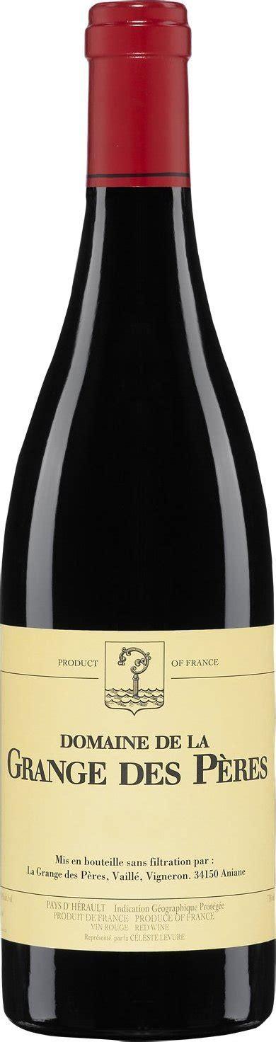 la grange des peres domaine de la grange des p 232 res 2011 expert wine ratings