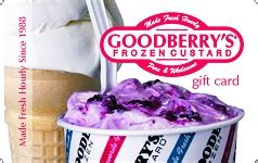 Goodberry S Gift Card - buy goodberry s frozen custard gift cards giftcardplace
