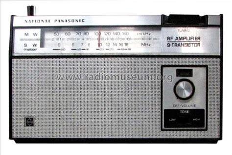 transistor lifier for radio rf lifier 9 transistor r 223r radio panasonic matsushita