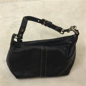 Small Black Leather by Coach Bags Small Black Leather Purse Poshmark