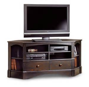 furniture wood corner console table tv stand with