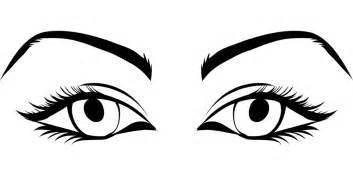 free vector graphic eyes female game asset call free
