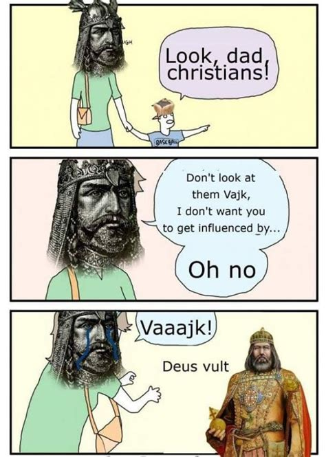 Deus Vult Memes - st stephen of hungary deus vult know your meme