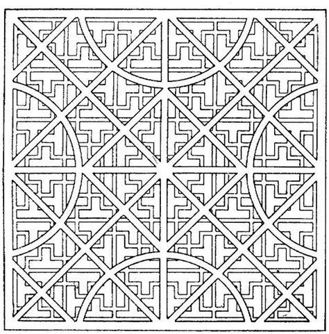 crazy geometric coloring pages coloriage anti stress les beaux dessins de autres 224